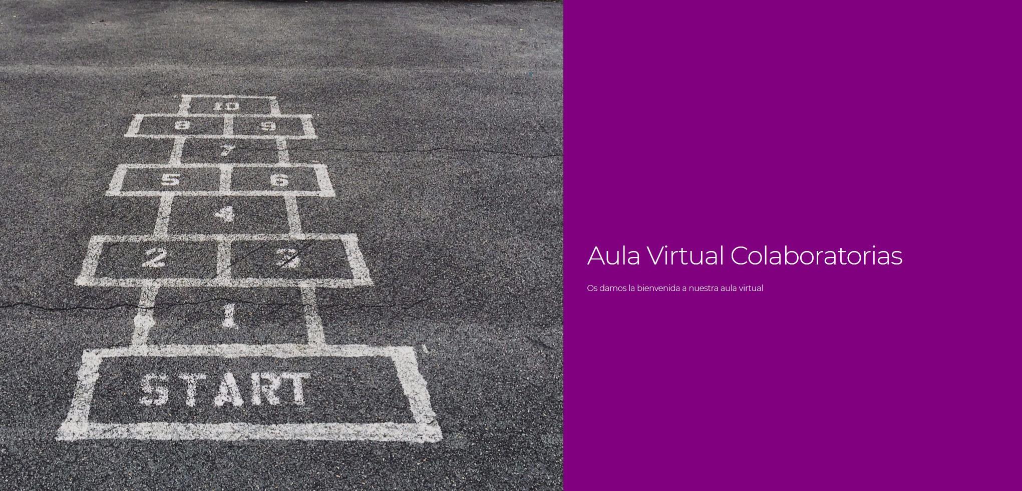 bienvenida al aula virtual